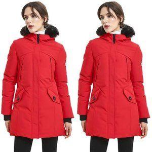 PUREMSX Women's Padded Jacket Winter Coat